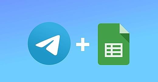 Как настроить работу Телеграм-бота сGoogle Sheets